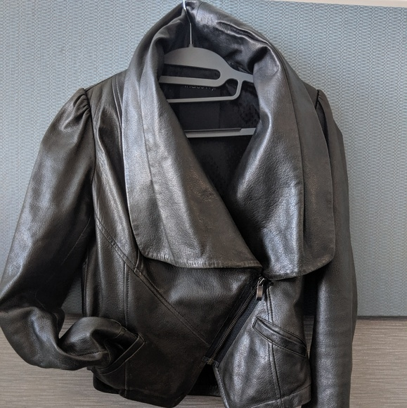 Modern Chic Industry Leather jacket*rare find!!*